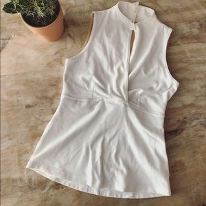 lululemon athletica Tops - Lululemon Athletica White Top Size 8